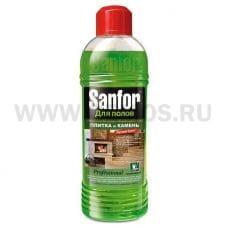 Sanfor 920г  универ моющее д/пола Плитка и Камень Букет