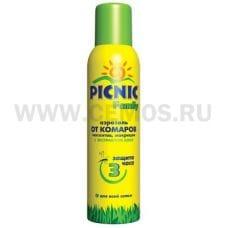 Picnic Family 150см3  аэрозоль от комаров