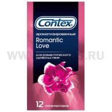 CONTEX Romantic Love (ароматизированные) презервативы №12