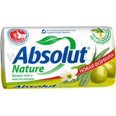 Absolut Т/м 90г Nature Fito Guard белый чай и масло оливы