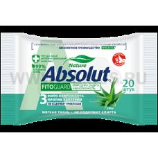 Absolut влаж салф антибактериальные бл20 Fito Guard алоэ