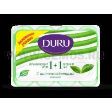 Duru Крем 1+1 4*90гр\Зеленый чай, Т/м