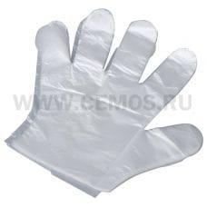 БОНУС  Перчатки полиэтиленовые одноразовые 100шт(50пар)