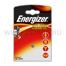 Energizer батарейки  Silver Oxide 377/376  бл1