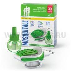 MOSQUITALL Электрофумигатор + жидкость от комаров 30 ночей