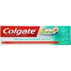 Colgate  75мл Total 12 Профессиональная чистка гель,З/п