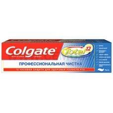 Colgate  75мл Total 12 Профессиональная чистка паста,З/п