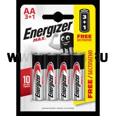 Energizer  батарейки МАКС ( пальцы ) AA бл3+1