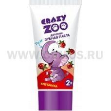 Crazy ZOO З/п  50мл Клубника