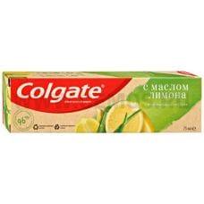 Colgate  75мл Naturals Освежающая чистота Масло Лимона, З/п
