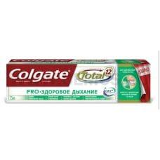 Colgate  75мл Total 12 Про-Здоровое дыхание,З/п
