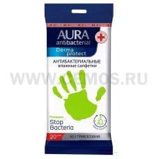 AURA Влаж.салф. Антибактериальные бл20 Derma Protect ромашка