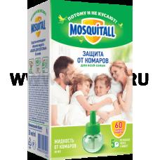 MOSQUITALL Защита д/семьи 30мл жидкость от комаров 60 ночей