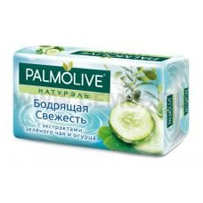Palmolive 90г \Бодрящая Свежесть с экс.зелен.чая и огурца