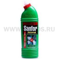 Sanfor UNIVERSAL 750мл 10 в1 c хлором Зеленое яблоко, Ч/с