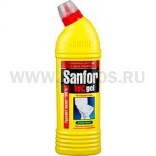 Sanfor WC 750мл гель яблоко, Ч/с