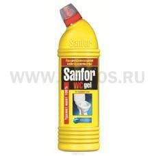 Sanfor WC 750г гель морской, Ч/с