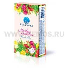 РУСАЛОЧКА носовые платочки 3-х сл.10шт.бл.6 весенние цветы