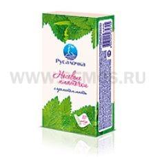 РУСАЛОЧКА носовые платочки 3-х сл.10шт.бл.6 мята