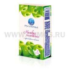 РУСАЛОЧКА носовые платочки 3-х сл.10шт.бл.6 яблоко
