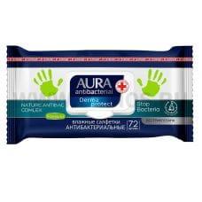 AURA Влаж.салф. Антибактериальные бл72 Derma Protect ромашка