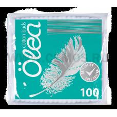OLEA Ватные палочки 100шт. п/э пакет