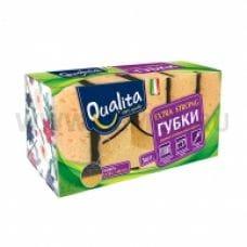 QUALITA Губки д/посуды Extra strong бл5