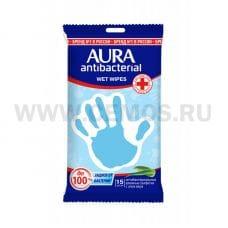 AURA Влаж.салф. Антибактериальные бл15 Derma Protect Алоэ