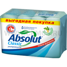 Absolut Т/м 4*75г Classic ABS ультразащита